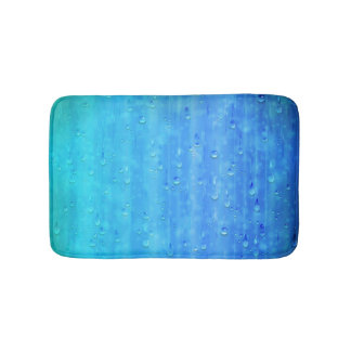 Wet Blue Bath Mats