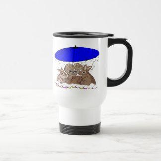 Wet Bunnies Stainless Steel Travel Mug