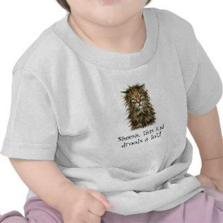 Wet Cat Kid Drool Tee Shirt Infant