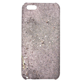 Wet cement with wet sand and pebbles iPhone 5C covers