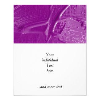 wet color texture,purple flyer design