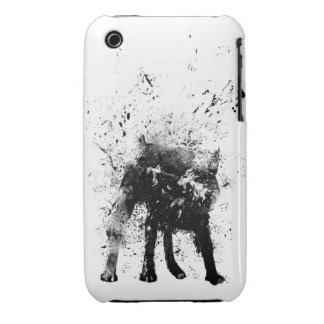 wet dog iPhone 3 cover