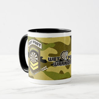 Wet Foot Warriors Darts Team Mug