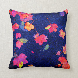 Wet Leaves Cushion