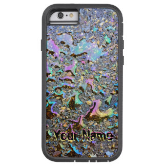 Wet Look Oil Drops with Your Name Tough Xtreme iPhone 6 Case
