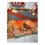 Wet market postcard