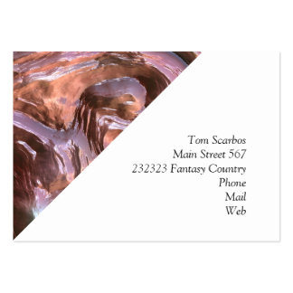 Wet Metal Structure (I) Pack Of Chubby Business Cards