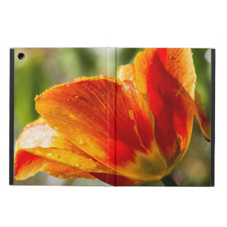 Wet Orange and Yellow Tulip Cover For iPad Air