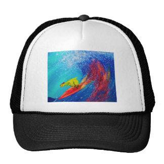 Wet Paint Mesh Hat