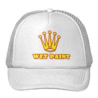 wet paint paintball logo cap