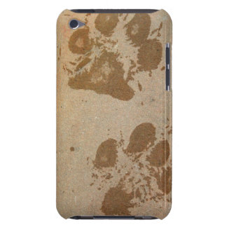 Wet Paw Prints iPod Touch Cover
