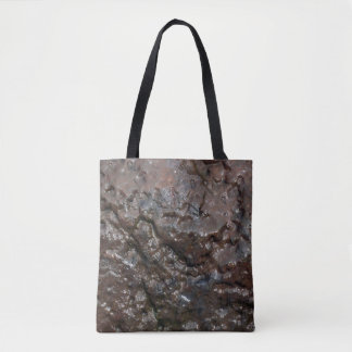 Wet rock tote bag