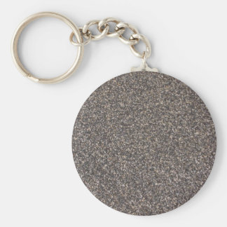 Wet Sand Basic Round Button Key Ring