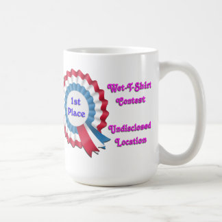 Wet T-shirt contest Coffee Mug