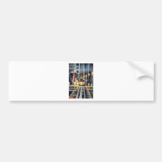 Wet Tram Calafornia Bumper Sticker