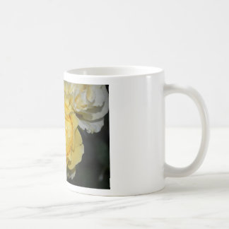 Wet Yellow Rose Coffee Mug