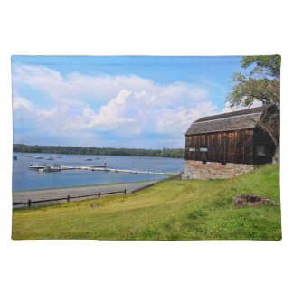 Wethersfield Cove - CT Rustic Water Scene Placemat