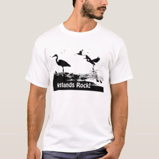 Wetlands Rock! Silhouettes T-Shirt