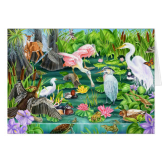 Wetlands Wonder Card