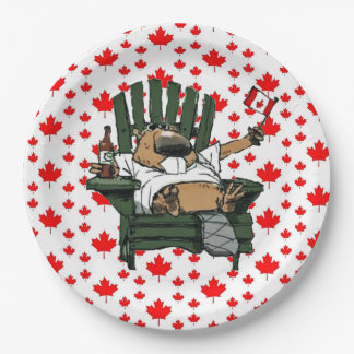 We've Got Spirit Canada Day Party Paper Plates