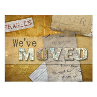 """We've Moved"" Change of Address Postcard"