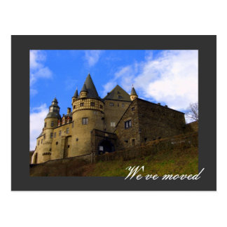 We've moved - fully customizable! postcard