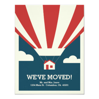 We've Moved! Moving Announcement Card