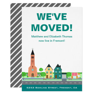We've Moved | New Address | Moving Announcement