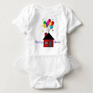 We've Moved New Home Baby Bodysuit