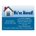 We've Moved, Old/New Address Postcard