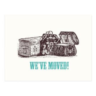 We've Moved! Postcards