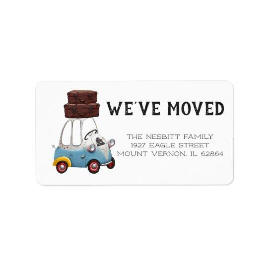 We've Moved   Return Address Labels