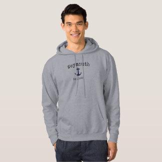 Weymouth Massachusetts grey hoodie for men