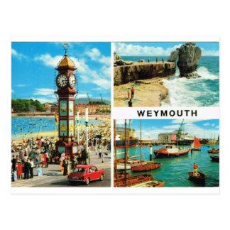 Weymouth Multiview 1ç50 Postcard