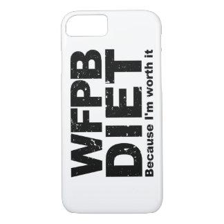 WFPB I'm Worth It (blk) iPhone 8/7 Case