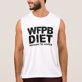 WFPB I'm Worth It (blk) Singlet