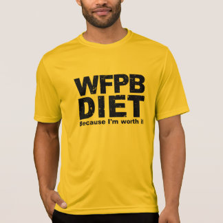 WFPB I'm Worth It (blk) T-Shirt