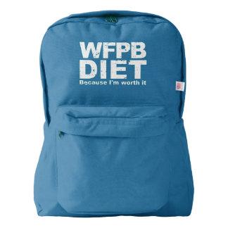 WFPB I'm Worth It (wht) Backpack