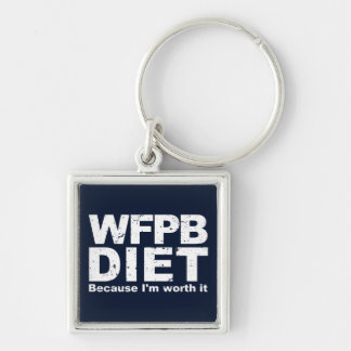 WFPB I'm Worth It (wht) Key Ring