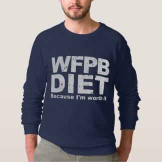 WFPB I'm Worth It (wht) Sweatshirt