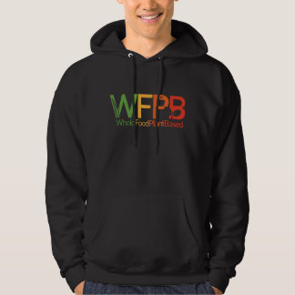 WFPB logo - Hooded Sweatshirt dark