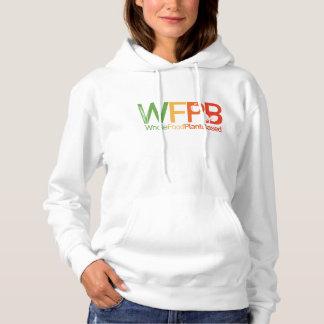 WFPB logo - Hooded Sweatshirt light