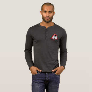 WFS Logo - Men's Bella+Canvas Henley Long Sleeve T T-Shirt