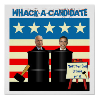 Whack A Candidate Poster