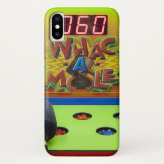 Whack a Mole iPhone X Case