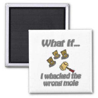 whack a mole square magnet