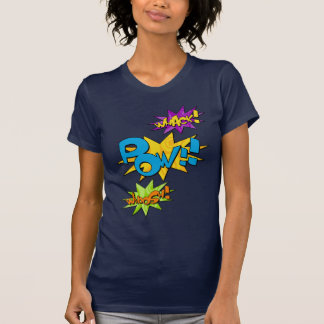 Whack Pow Whoosh Comic T-Shirt