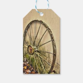 Whagon Wheel Gift Tags