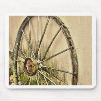 Whagon Wheel Mouse Pad