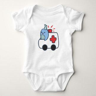 Whalbulance Baby suit Baby Bodysuit